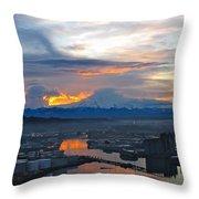 Rainier 14 Throw Pillow