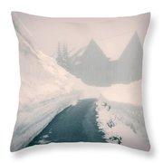 Rainier Haunting Throw Pillow