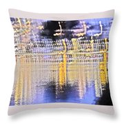 Raining Light Throw Pillow