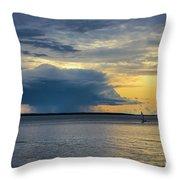 Rainstorm Offshore Throw Pillow