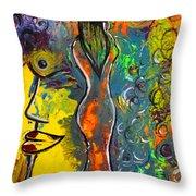 Rainsunbow Throw Pillow