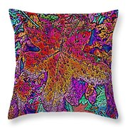Rainy Day Delight 3 Throw Pillow