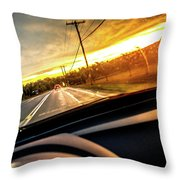 Rainy Day In July II Throw Pillow