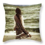 Rainy Day Throw Pillow by Joana Kruse