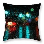 Rainy Days Throw Pillow