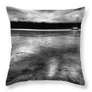 Rainy Days In Summerland Throw Pillow