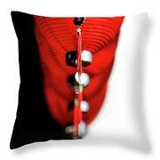 Raise The Red Lantern Throw Pillow