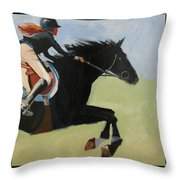 Raising Champions Throw Pillow