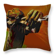 Rakim Throw Pillow