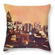 Raleigh Sunrise IIi Throw Pillow