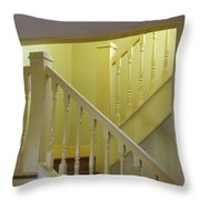 Ralphie's Staircase Throw Pillow