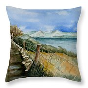 Rambling Walk Throw Pillow