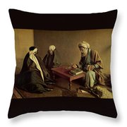 Rammal By Kamalolmolk Throw Pillow