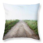 Ramona Foggy Morning Throw Pillow
