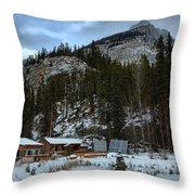 Rampart Creek Hostel Throw Pillow