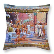 Ramses The Great  Throw Pillow