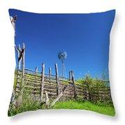 Ranch At Click Gap Throw Pillow
