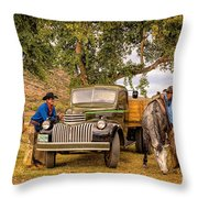 Ranch Hands Throw Pillow