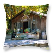 Rancho Sisquoc Winery Throw Pillow