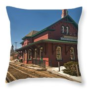 Randolf Depot Throw Pillow