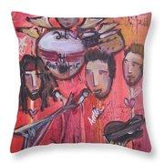 Random Hero At The Gothic Throw Pillow