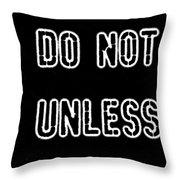 Random Words  Throw Pillow