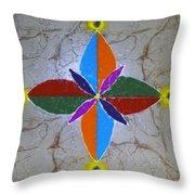 Rangavali Throw Pillow