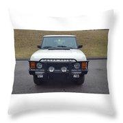 Range Rover Classic Throw Pillow
