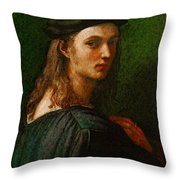 Raphael Portrait Of Bindo Altoviti Throw Pillow