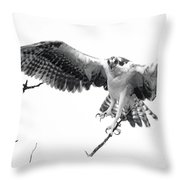 Raptor Elite Throw Pillow