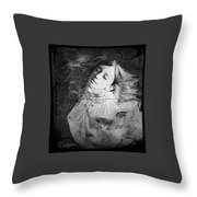 Rapture 2 Throw Pillow by Delight Worthyn