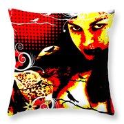 Rapturous Fascination Throw Pillow