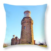 Rapunzels Tower Throw Pillow