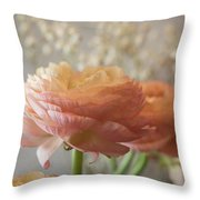 Ranunculus - 6315 Throw Pillow