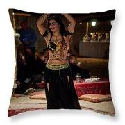 Raqs Sharqi Throw Pillow