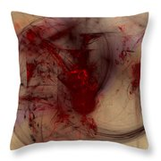 Rare Groove Throw Pillow