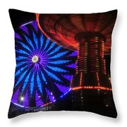 Rare Light Throw Pillow