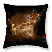 Rare Spotted Deer Throw Pillow