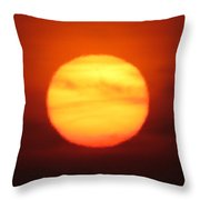 Rare Sunset 3 Throw Pillow