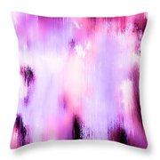 Raspberry Baret Throw Pillow