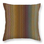 Raspberry Tonal Tapestry Throw Pillow
