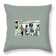 Rastaman Throw Pillow