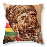 Rastaman Throw Pillow