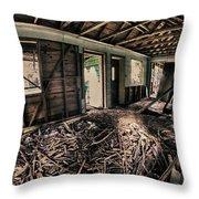 Rat Nest, Real Estate Series Throw Pillow