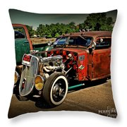 Rat Rod For Sale Throw Pillow