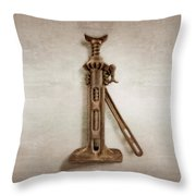 Ratchet And Screw Jack II Throw Pillow