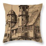 Rathaus Throw Pillow