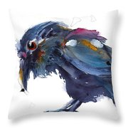 Raven 2 Throw Pillow