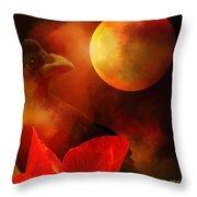 Raven Moon And Poppy 2 Throw Pillow