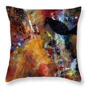 Raven Morgan 002 Throw Pillow